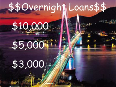 Loans Overnight Up To 3000